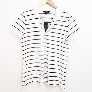 LAUREN RALPH LAUREN Striped Polo Shirt